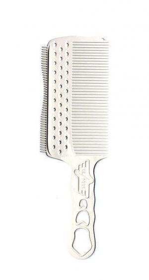 Расческа для стрижки под машинку Y.S.Park YS-s282LT White - 00-00012463