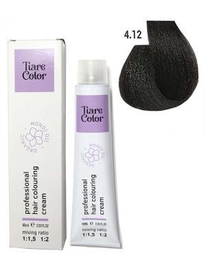 Крем - фарба для волосся 4.12 Tiare color 60 мл    - 00-00012498