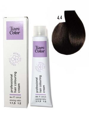 Крем - фарба для волосся 4.4 Tiare color 60 мл    - 00-00012502