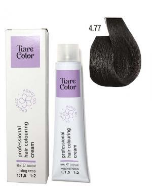 Крем - фарба для волосся 4.77 Tiare color 60 мл    - 00-00012505
