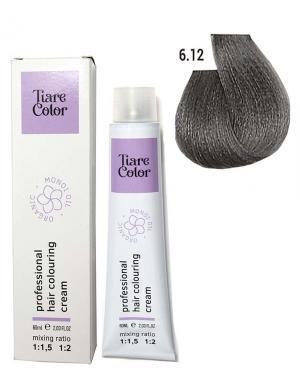 Крем - фарба для волосся 6.12 Tiare color 60 мл    - 00-00012525