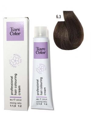 Крем - фарба для волосся 6.3 Tiare color 60 мл    - 00-00012528