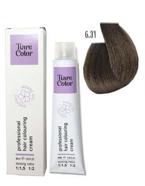Крем - фарба для волосся 6.31 Tiare color 60 мл    - 00-00012529