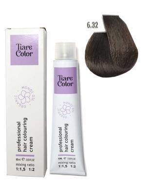 Крем - фарба для волосся 6.32 Tiare color 60 мл    - 00-00012530