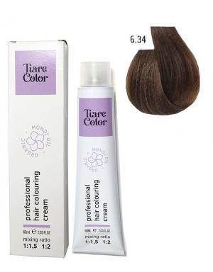 Крем - фарба для волосся 6.34 Tiare color 60 мл    - 00-00012531