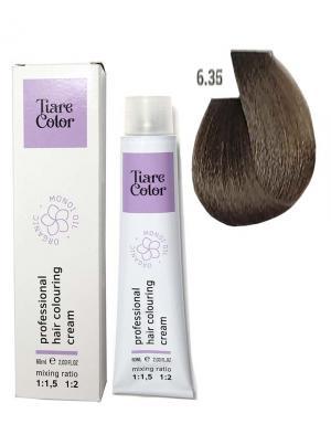 Крем - фарба для волосся 6.35 Tiare color 60 мл    - 00-00012532