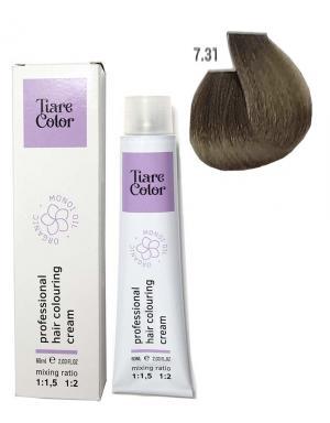 Крем - фарба для волосся 7.31 Tiare color 60 мл    - 00-00012547