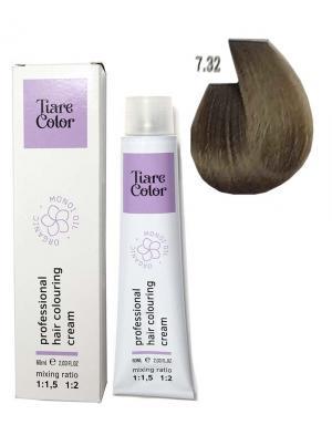 Крем - фарба для волосся 7.32 Tiare color 60 мл    - 00-00012548
