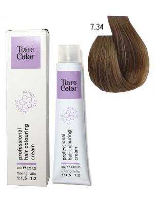 Крем - фарба для волосся 7.34 Tiare color 60 мл    - 00-00012549