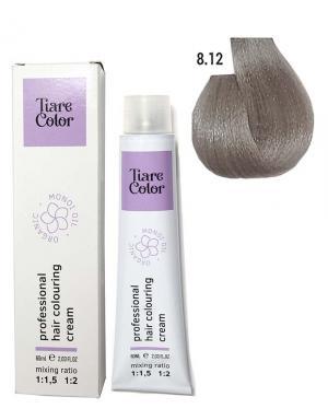 Крем - фарба для волосся 8.12 Tiare color 60 мл    - 00-00012561