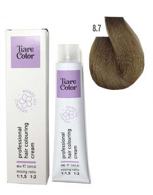 Крем - фарба для волосся 8.7 Tiare color 60 мл    - 00-00012568