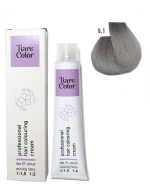 Крем - фарба для волосся 9.1 Tiare color 60 мл    - 00-00012571
