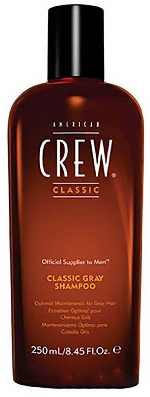 Шампунь для сивого волосся American Crew Classic Gray 250 мл  - 00-00012663