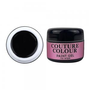 Гель-фарба COUTURE Colour Paint Gel no wipe BLACK 5 мл  - 00-00012712