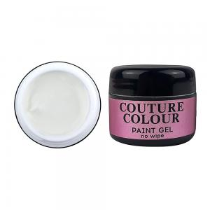 Гель-фарба COUTURE Colour Paint Gel no wipe WHITE 5 мл  - 00-00012713