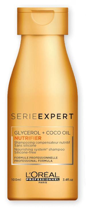 Шампунь для сухих и поврежденных волос L'Oreal Professionnel Nutrifier 100 мл - 00-00012718