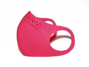 Маска захисна багаторазова рожева ANVI