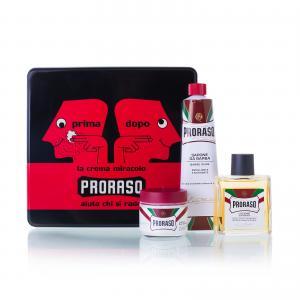 Набір подарунковий для гоління з 3-х предметів Proraso vintage selection primadopo - 00-00012880
