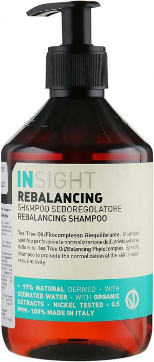 Шампунь для жирных волос Insight Rebalancing 400 мл - 00-00012949