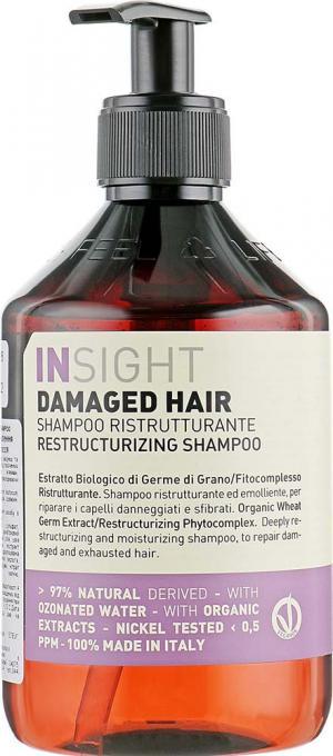 Шампунь для восстановления поврежденных волос Insight 400 мл - 00-00012958