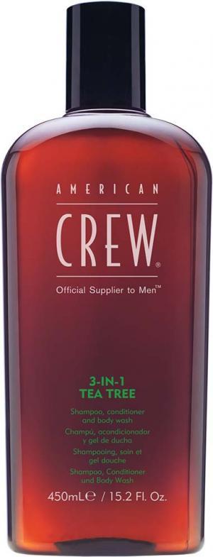Засіб для догляду за волоссям та тілом 3-в-1 American Crew Classic Tea Tree 1000 мл - 00-00013029