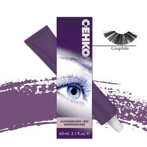 Фарба для брів та вій C:EHKO №01 Графіт 60 мл - 00-00000131
