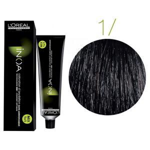 Крем-фарба для волосся L'Oreal Professionnel INOA Mix 1+1 №1 Schwarz 60 мл - 00-00000460