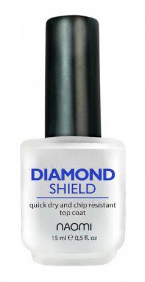 Закріплювач швидковисихаючий Naomi Diamond Shield 15 мл - 00-00000563
