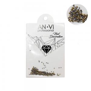Камінці сваровських ANVI Professional PIXI бронзові №7 200 шт - 00-00000895