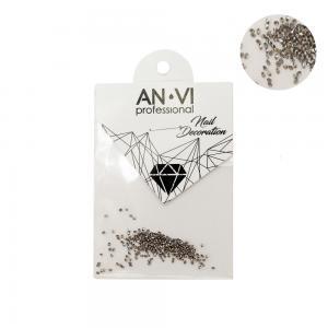 Камінці сваровських ANVI Professional PIXI срібні №6 200 шт - 00-00000898