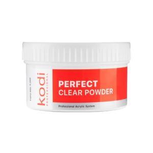 Базовий акрил Kodi Professional 'Прозорий' Perfect Clear Powder 60 г - 00-00002791