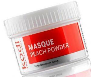 Матуюча акрилова пудра Персик Kodi Professional Masque Peach+Powder 60 г - 00-00002801