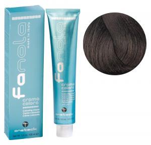 Крем-фарба для волосся Fanola №4/03 Warm medium chestnut 100 мл - 00-00002966