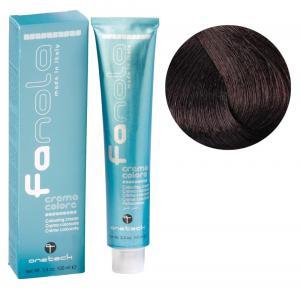 Крем-фарба для волосся Fanola №5/5 Light chestnut mahogany  100 мл - 00-00002987