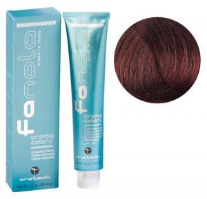 Крем-фарба для волосся Fanola №5/6 Light Chestnut Red 100 мл - 00-00002988