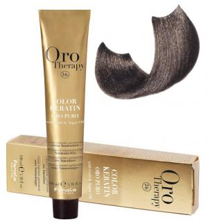 Безаміачна крем-фарба для волосся Fanola Oro Therapy №6/1 Dark Blonde Ash 100 мл - 00-00003086
