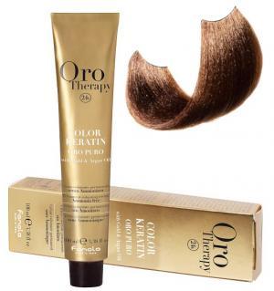 Безаміачна крем-фарба для волосся Fanola Oro Therapy №6/3 Dark blonde golden  100 мл - 00-00003089