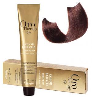 Безаміачна крем-фарба для волосся Fanola Oro Therapy  №6/46 Dark Blonde Copper Red 100 мл - 00-00003091