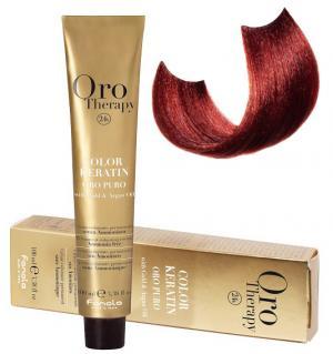 Безаміачна крем-фарба для волосся Fanola Oro Therapy №6/606 Dark blonde warm red 100 мл - 00-00003094