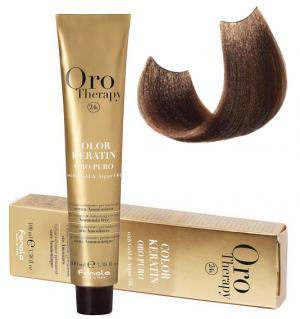 Безаміачна крем-фарба для волосся Fanola Oro Therapy №7/0 Blonde 100 мл - 00-00003095
