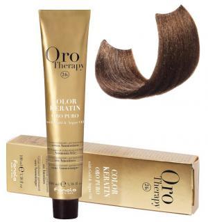 Безаміачна крем-фарба для волосся Fanola Oro Therapy №7/31 Blonde sandy 100 мл - 00-00003101