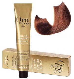 Безаміачна крем-фарба для волосся Fanola Oro Therapy №7/4 Medium Blonde Copper 100 мл - 00-00003102