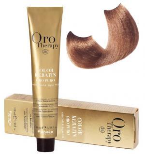 Безаміачна крем-фарба для волосся Fanola Oro Therapy №8/14 Glandula 100 мл - 00-00003108