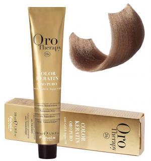 Безаміачна крем-фарба для волосся Fanola Oro Therapy №8/31 Light blonde sandy 100 мл - 00-00003110