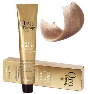 Безаміачна крем-фарба для волосся Fanola Oro Therapy №9/0 Very light blonde 100 мл - 00-00003112