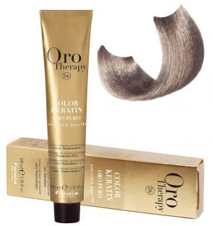 Безаміачна крем-фарба для волосся Fanola Oro Therapy №9/1 Very Light Blonde Ash 100 мл - 00-00003114