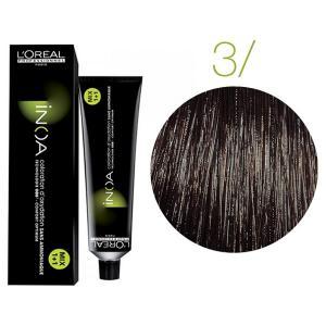 Крем-фарба для волосся L'Oreal Professionnel INOA Mix 1+1 №3 Сastano 60 мл - 00-00004673