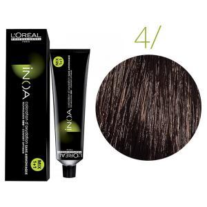 Крем-фарба для волосся L'Oreal Professionnel INOA Mix 1+1 №4 Каштан 60 мл - 00-00004674
