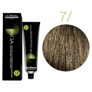 Крем-фарба для волосся L'Oreal Professionnel INOA Mix 1+1 №7 Глибокий блонд 60 мл - 00-00004677