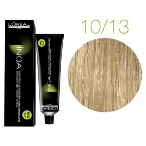 Крем-фарба для волосся L'Oreal Professionnel INOA Mix 1+1 №10/13 Platinblond Asch Gold 60 мл - 00-00004721